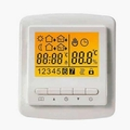 Yellow Screen Weekly Programmable Thermostat