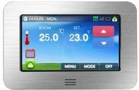Touch Screen Colour Screen Thermostat for Underfloor Heating